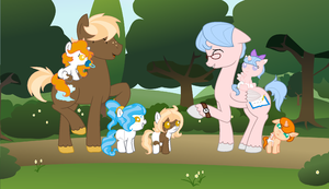 Meeting On A Pathway by LullabyPrince