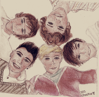 One Direction Hug by ceedeng