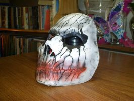 Cast Mask bloody mouth by foxdog77