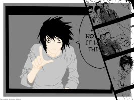 Death Note - Rotate Like This. by kuroineko