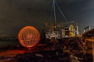 Ship Orb by 904PhotoPhactory