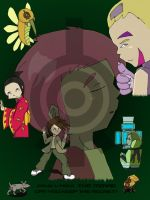 Code Lyoko: The Movie Poster by Mewberries