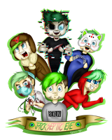 Many Faces Of The Jackaboy by NigthmareWolf