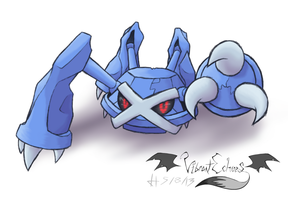 Metagross by VibrantEchoes