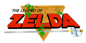 The Legend Of Zelda - Logo Render by Jese1801