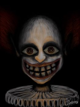 Creepy Clown by J-Zegarra