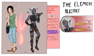 TEA APP:: Fire Alliance Assisstant :: Alice by MelodicSoul