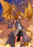 Girl Dragon Finished by patamy