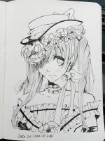 Day 26 challenge: Ciel in a dress by super5003