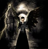 Gothicangel4 by MarinaDigitalArt