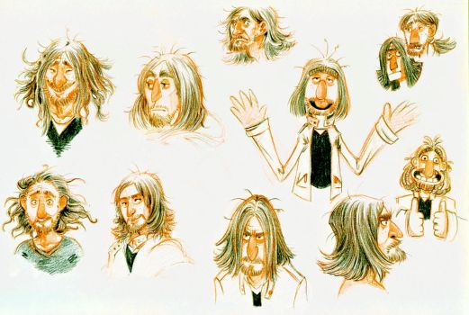 Silly Self-Portraits by eoghankerrigan