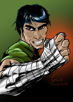 2015-11-08-Rock Lee by Madmonkeylove