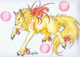 .::Okami Sankyo::. by WhiteSpiritWolf