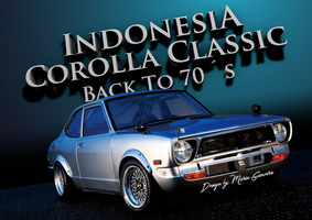 Indonesia Corolla Classic - Kopdar Retro by MarioG16