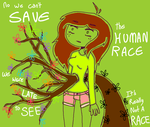 No We Cant Save The Human Race by F0XEH