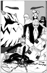 My manga cover about Gaara 2 by 4OUS