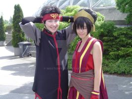 Seeing Aang and Toph by MissTerry