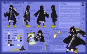 Timekeeper: Reference Sheet by Caretaker-of-Myth