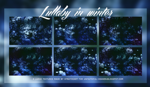 lullaby in winter - texture pack #4 by sasha9892