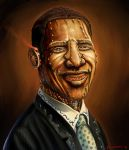 Steampunked Obama by The-Hand