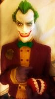 The Arkham Asylum Joker -SkooB 6/3/15 by SkoobyForever