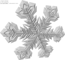 Snowflake 3D-model by EuTytoAlba