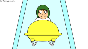 El Chavo in a bobsleigh by dev-catscratch