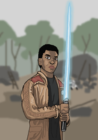 Star Wars - Finn by Juggernaut-Art