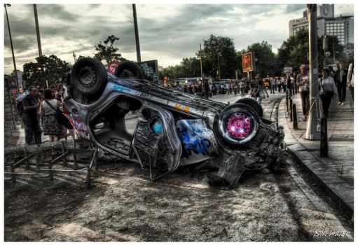 Head For the Barricade HDR by ISIK5