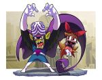 mojojojo and blossom. by Gashi-gashi