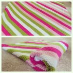 Pink Stripes by anerdycrocheter