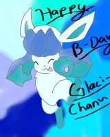 HAPPY B-DAY GLACI-CHAN by Eeveelutionluver123