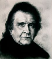 Johnny Cash by lucidity69