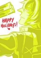 DMC - Happy Holidays by karaii