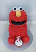 3D Elmo Cake by Verusca