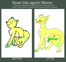 Draw This Again Meme by guIIs