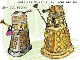 Gay Daleks 2005 by jinkies36