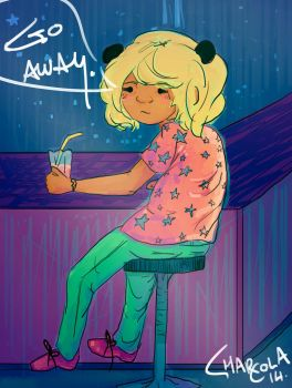 go away by charcola