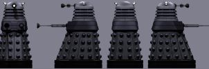 New Dalek Paradigm Drone Turnaround by Librarian-bot