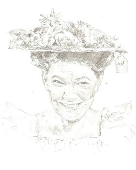 Minnie Pearl by bcstroud