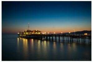 Santa Monica Pier by eDamak