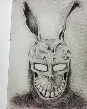 Frank the Rabbit from Donnie Darko by Laily95