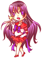 Chibi-Sailor Mars by HotaruAyanami