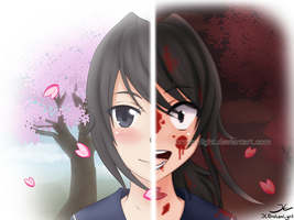 ~ Yandere-chan ~ by JCBrokenLight