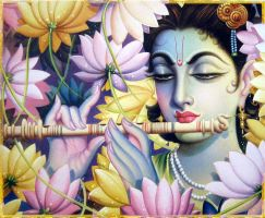 KRISHNA BLOOM by VISHNU108