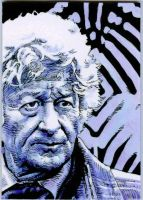 The Third Doctor by Herbarianband