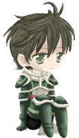 Chibi Stahl~ by captured-firefly
