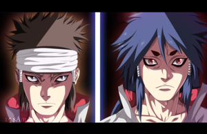 Naruto 670 - Indra And Ashura by sAmA15