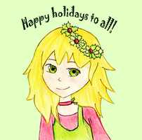 .:Happy Holidays to all:. by AnDarkPrincess