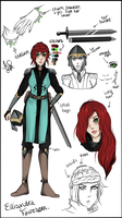 Commission: Ellisandra Reference Sheet by Jolly-Jessie